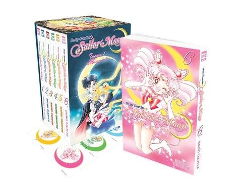 Sailor Moon. Тома 1-6 в коллекционном боксе