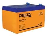 Аккумулятор DELTA HRL 12-12 ( 12V 12Ah / 12В 12Ач ) - фотография