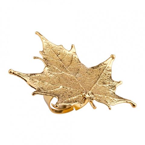 Кольцо Филигранный Канадский Клён LF40R-G BR