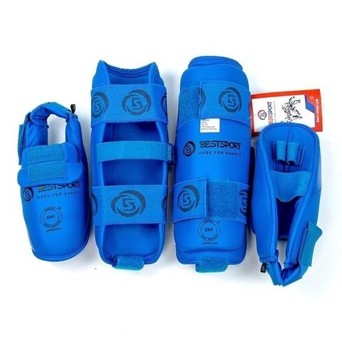 Защита голень-стопа EKF детская Бэст Спорт