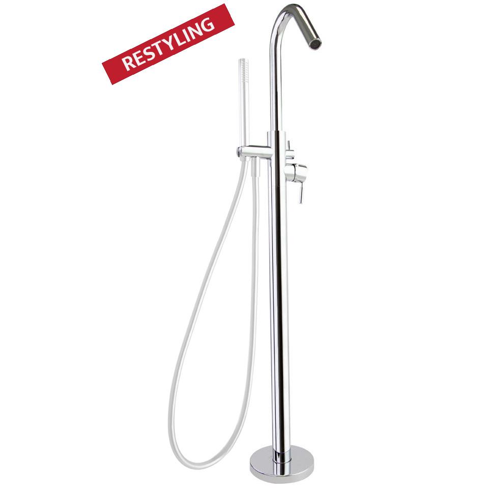 Напольный смеситель для ванны ATICA 758503S