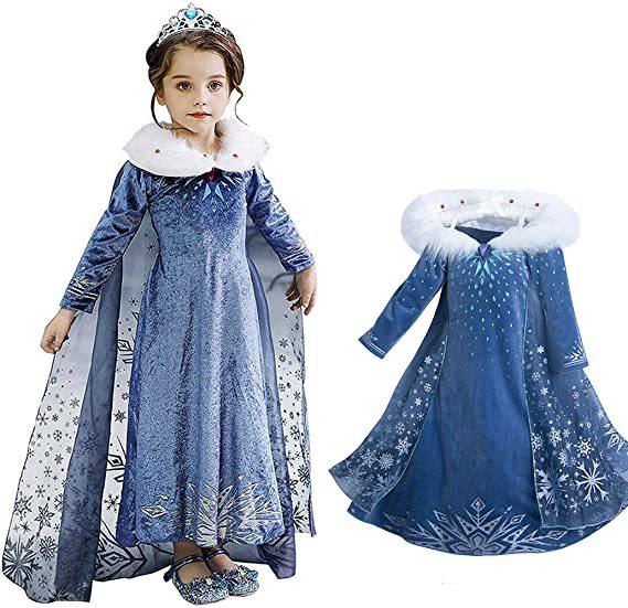 Олаф и холодное приключение платье Эльзы