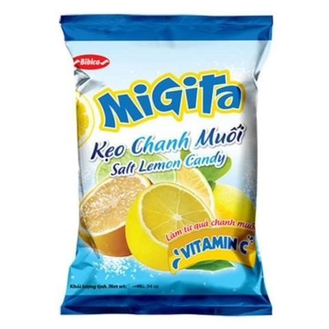 Карамель MIGITA с лимоном - 70 гр.