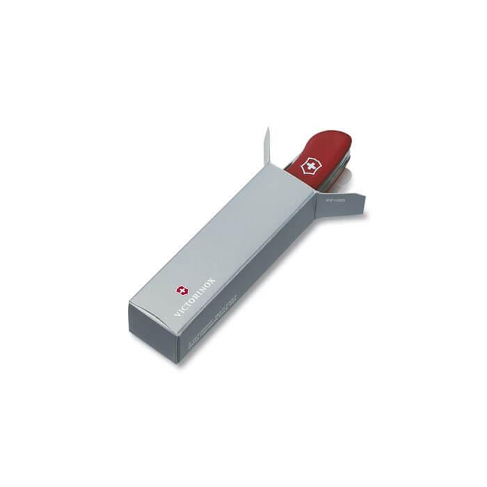 Нож Victorinox Forester, 111 мм, 12 функций, с фиксатором лезвия, черный