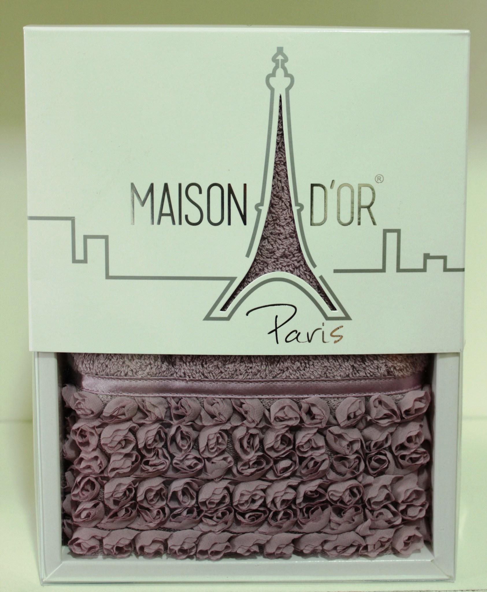 Полотенца Полотенце махровое в коробке ROSA - РОЗ 50х100 Maison Dor(Турция). ROSA__1_.JPG