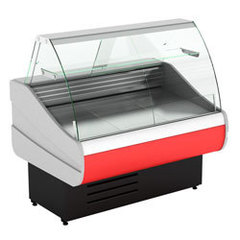 Холодильная витрина  CRYSPI OCTAVA 1200 c полкой, 0...+7 (выкладка 660 мм)