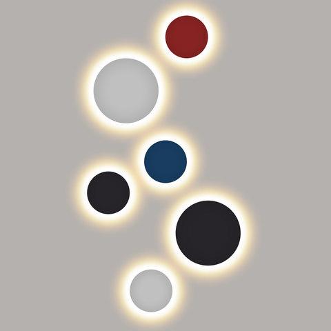 Concept L белый уличный настенный светодиодный светильник 1661 TECHNO LED