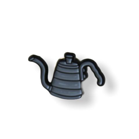 Значок Кофейник, заливной