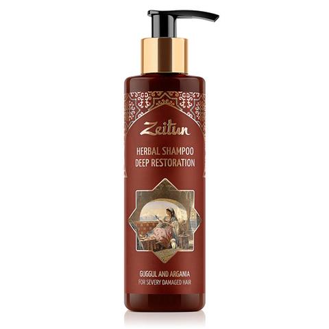 Фито-шампунь для повреждённых волос | 100 мл | Zeitun