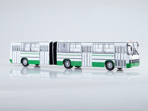 Ikarus-280.33 white-green Soviet Bus (SOVA) 1:43