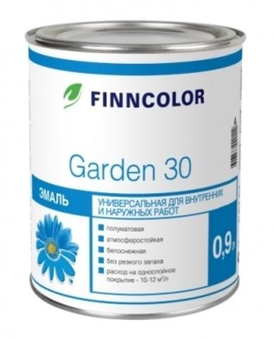 Finncolor Garden 30/Финнколор Гарден 30 эмаль алкидная полуматовая