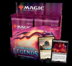 Дисплей коллекционных бустеров «Commander Legends» (на английском)