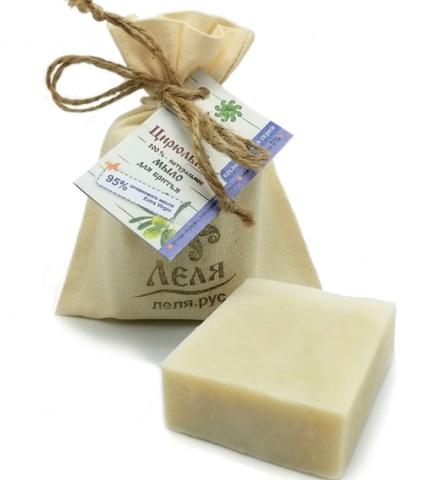 Цирюльник оливковое мыло для бритья, 80 гр