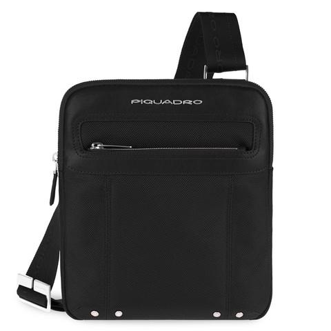 Сумка Piquadro Modus, черная, 21x26x4,5 см