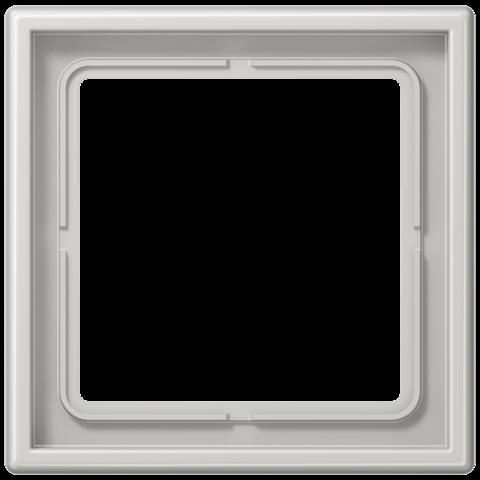 Рамка на 1 пост. Цвет Светло серый. JUNG LS 990. LS981LG