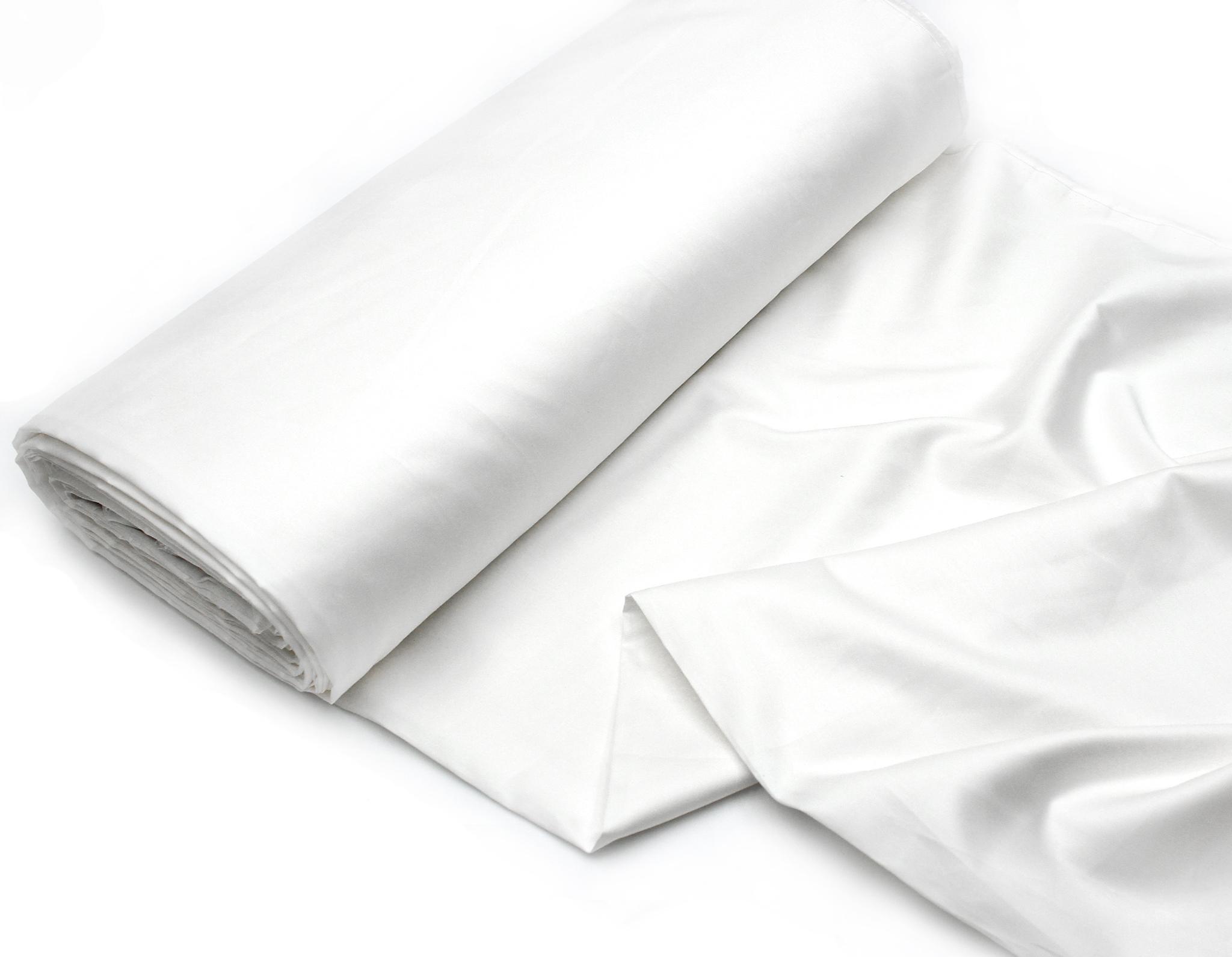 Белоснежный(сатин класса люкс,60s),250 см