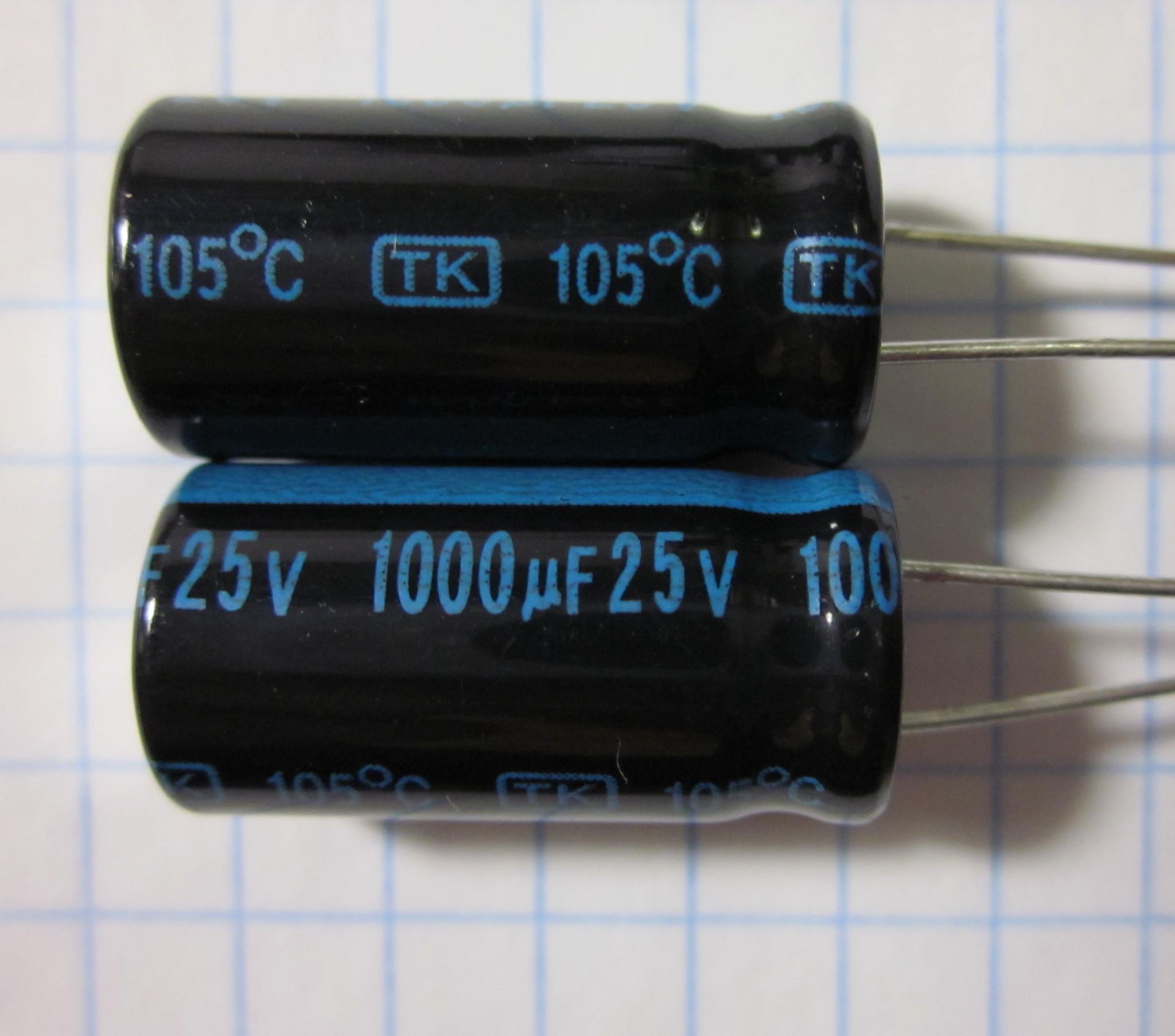 1000,0x25V 105C