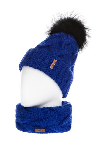 Комплект: шапка, снуд