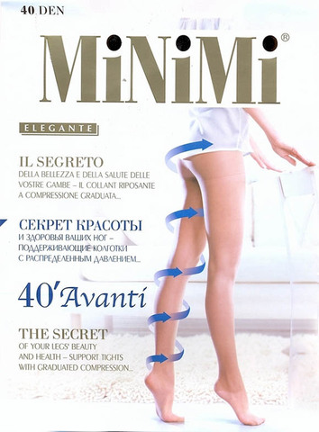 Женские колготки Avanti 40 Minimi