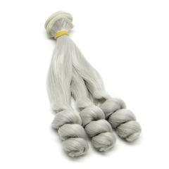 Волосы для кукол, трессы локоны, 15 см*1 метр.