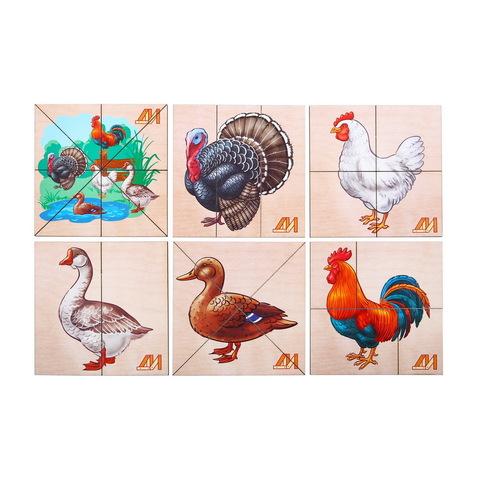 Разрезные картинки Птицы