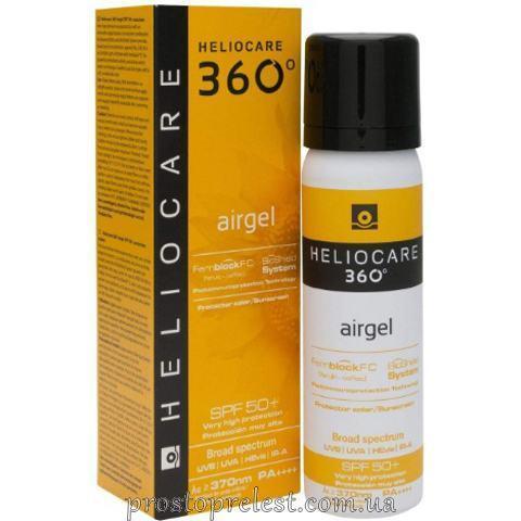Cantabria Labs Heliocare 360º Airgel SPF 50 - Сонцезахисний ультралегкий гель