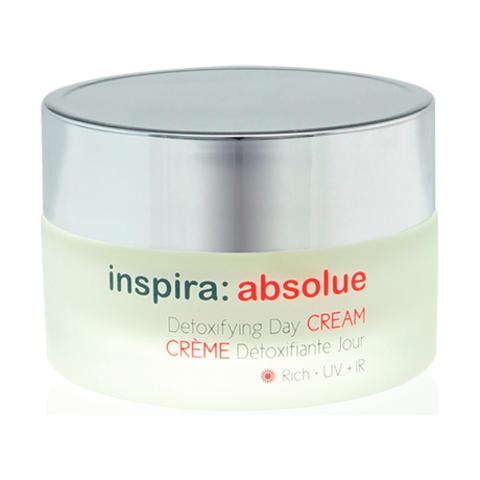 Детоксицирующий обогащенный увлажняющий дневной крем  Detoxifying Day Cream Rich, Inspira Absolue, 50 мл