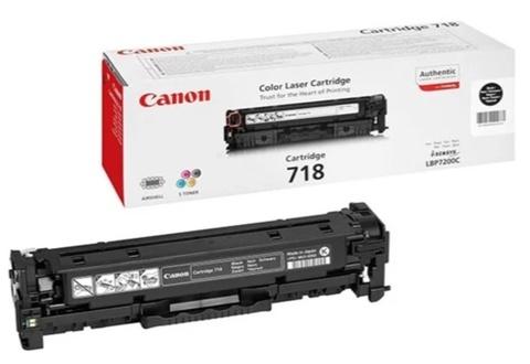 Картридж Canon 718Bk 2662B002 черный