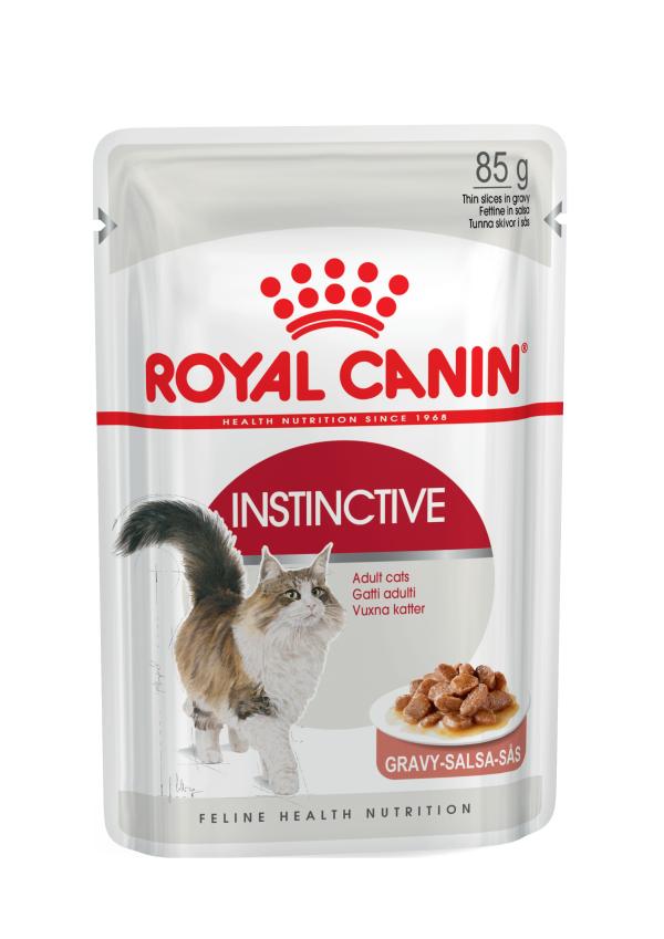 Влажные корма Пауч для кошек, Royal Canin Instinctive, в возрасте от 1 года до 7 лет (в соусе) D_Instinctive_in_gravy.png