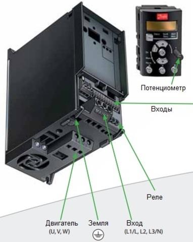 Частотный преобразователь Danfoss VLT Micro Drive FC 51 (2,2 кВт, 220В, 1 ф) 132F0007