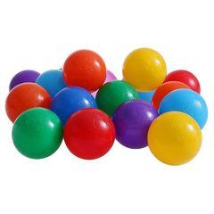 Шарики для сухого бассейна с рисунком, диаметр шара 7,5 см, набор 60 шт.