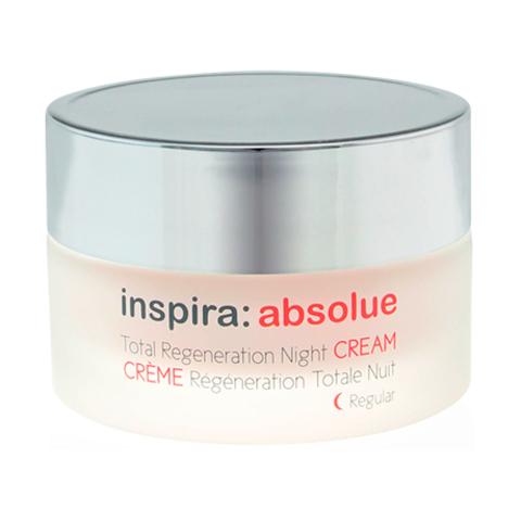 Легкий ночной регенерирующий лифтинг-крем Total Regeneration Night Cream Regular, Inspira Absolue, 50 мл