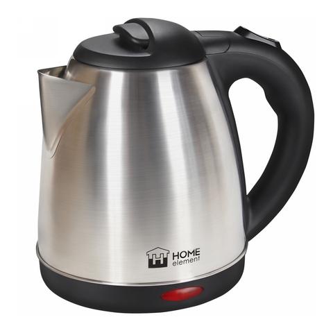 Чайник металлический HOME ELEMENT HE-KT192 черный жемчуг