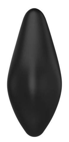 Черный клиторальный стимулятор Vivienne