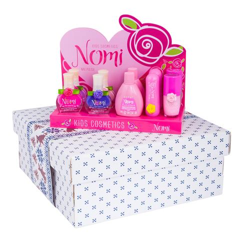Новогодний подарочный набор детской косметики NOMI!