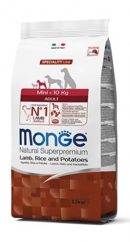 Monge Mini Adult Lamb 15 кг