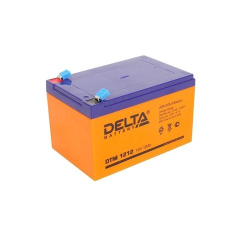 Аккумулятор для эхолота DELTA DTM 1212, 12В, 12.0Ah