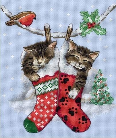 Рождественские котята