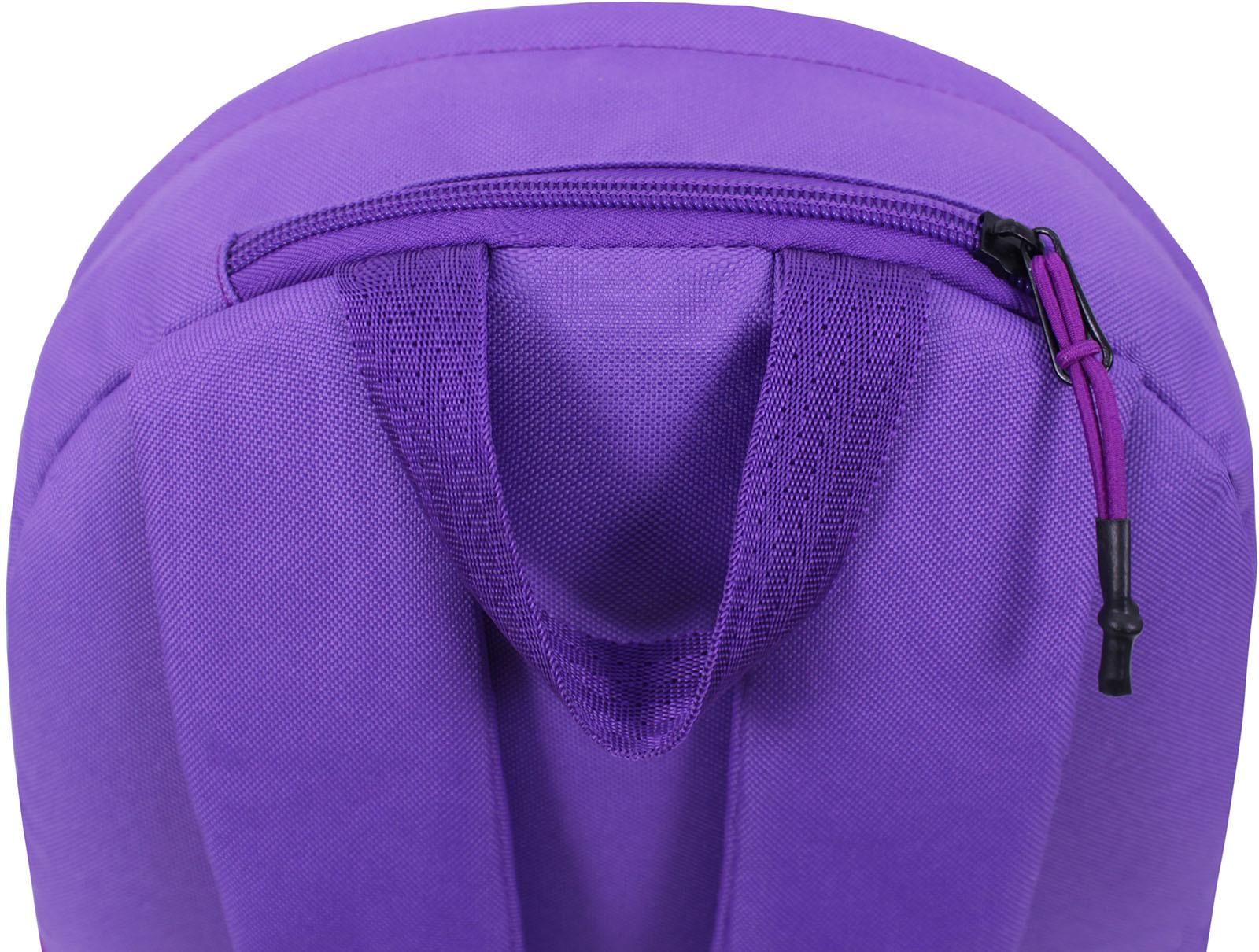Рюкзак Bagland Hood W/R 17 л. фиолетовый 469 (0054466) фото 4