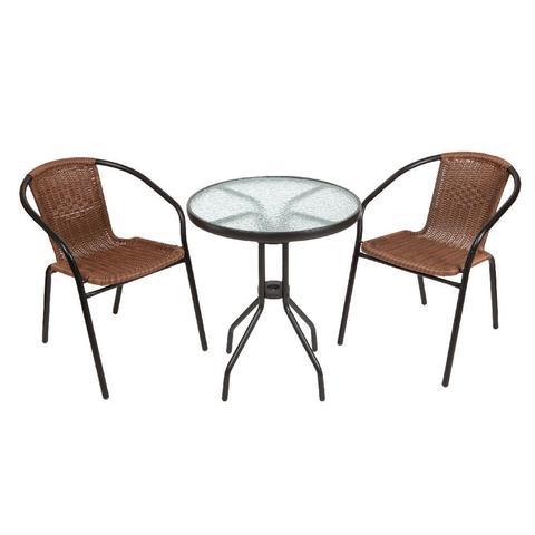 Комплект кофейный Bistro (стол 210171-A и 2 кресла 220020)