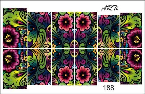 Слайдер наклейки Photonailart №188 купить за 80руб