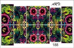Слайдер наклейки Photonailart №188