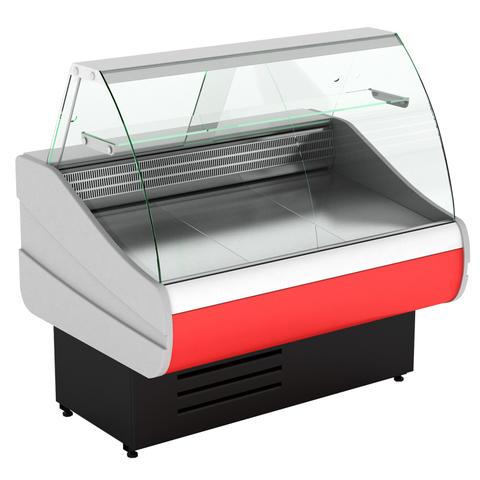 Холодильная витрина  CRYSPI OCTAVA 1500 c полкой, 0...+7 (выкладка 660 мм)