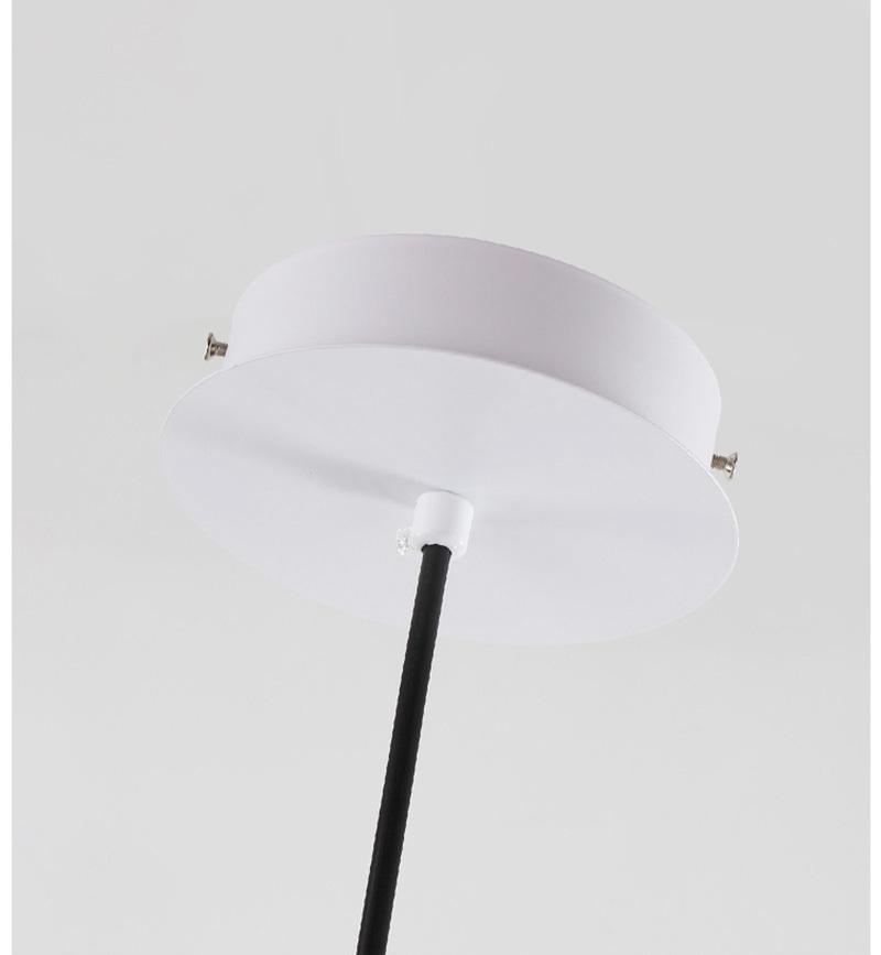 Подвесной светильник копия  Bolle by Giopato & Coombes (3 плафона, круглое крепление)