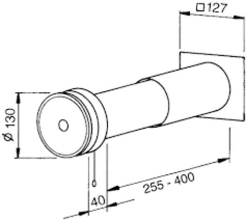 Приточный клапан ZLA 80 Helios