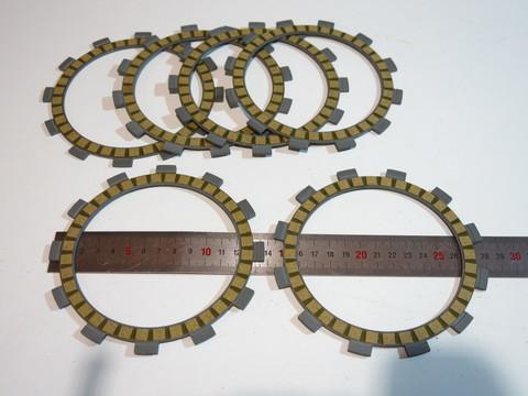 диски сцепления 6шт Yamaha  XG250  XT250