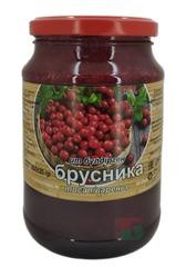 Варенье из брусники 850г. Айс Фуд Азия Казахстан - купить с доставкой на дом по Москве и в другие регионы