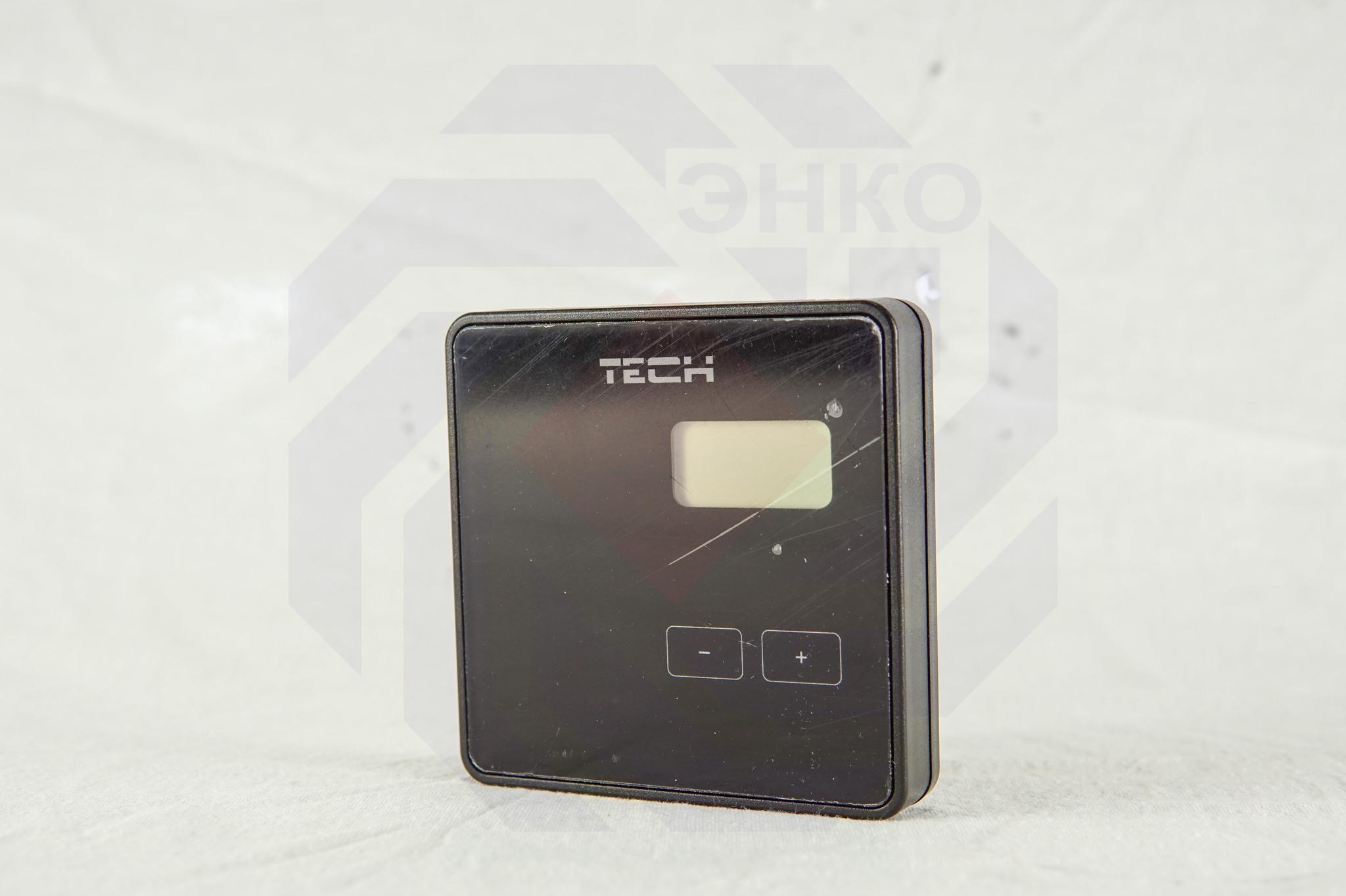 Термостат комнатный TECH STEROWNIKI ST-R-8B черный