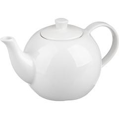 Чайник заварочный Башкирский фарфор белый 550 мл (артикул производителя ИЧК 29.550)