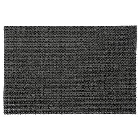 Коврик ТРАВКА серый, на противоскользящей основе, 45*60 см